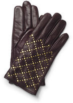 Club Monaco Quilted Stud Leather Glove