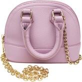 Popatu Mini Dome Faux Leather Top Handle Bag
