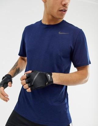 Nike Training mens fitness gloves in black