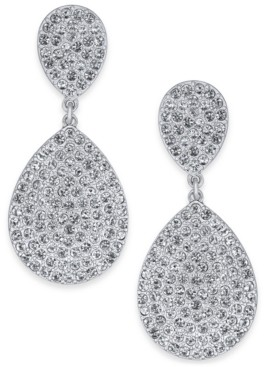 INC International Concepts Inc Pave Double Drop Earrings, Created For Macy's