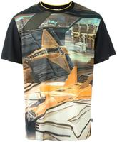 Opening Ceremony x Syd Mead 'Jet Fighter' T-shirt - men - Cotton/Polyester - S