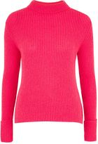Topshop TALL Lofty Turnback Cuff Knitted Jumper