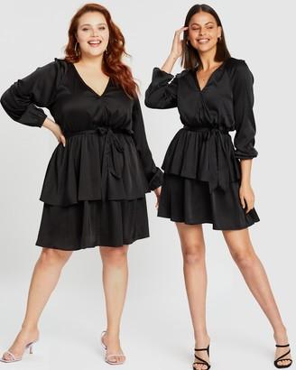 Atmos & Here Vinnie Ruffle Mini Dress