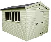 Crane 3 x 3.6m Kensington Garden Shed, FSC-certified (Scandinavian Redwood)