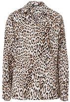 Olsen Animal Tunic Blouse