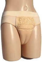 Beautylife88 Hiding Gaff Panty Shaping Pant For Crossdresser (,XL)