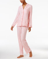 Charter Club Lace-Trimmed Printed Pajama Set, Only at Macy's