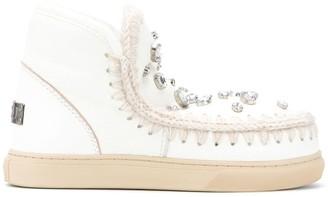 Mou Eskimo embellished ankle boots