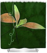 "bitt Shower Curtain featuring ""Tendril - Leaves"" by Nikolyn McDonald"