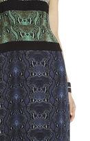 BCBGMAXAZRIA Rachel Print-Blocked Dress