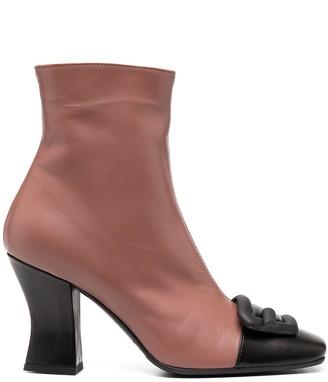 Roberto Festa Boras colour-block ankle boots