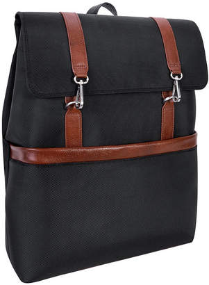 "McKlein Element 17"" Nylon Flap-Over Laptop Tablet Backpack"