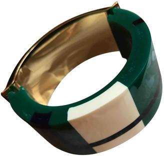 Marni Green Plastic Bracelets