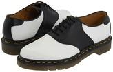 Dr. Martens Rafi Saddle Shoe (White/Black) - Footwear