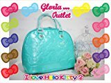 Hello Kitty Teal Ceramic Embossed Bag Loungefly