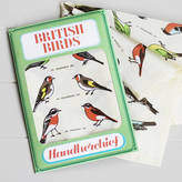 Sukie British Birds Handkerchief