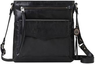 The Sak 108842BLA Ventura Zip Top Crossbody Bag