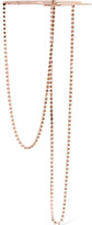 Maison Margiela Rose Gold-plated Crystal Necklace - one size
