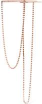 Maison Margiela Rose Gold-plated Crystal Necklace - one size