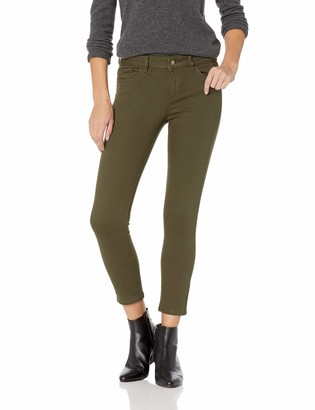 DL1961 Women's Florence Instasculpt Mid Rise Skinny Fit Cropped Jean
