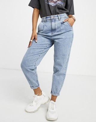 Object Roxanne high waisted jean in light blue