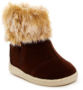 Toms Suede Nepal Faux Fur Boot (Baby, Toddler, & Little Kid)