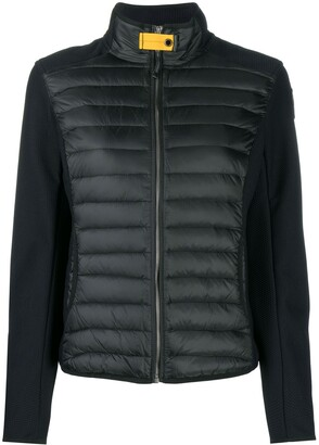 Parajumpers Olivia panelled puffer jacket