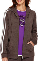 JCPenney Made For Life French Terry Jacket - Petite