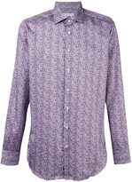 Etro abstract print shirt - men - Cotton - 40