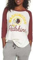 Junk Food Clothing Women's Nfl Washington Dc Raglan Tee