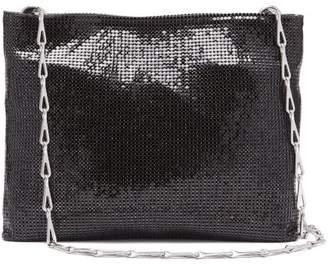 Paco Rabanne Pixel 1969 Chainmail Mesh Shoulder Bag - Womens - Black