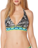 Jag Tropical Palm Halter Bra Top