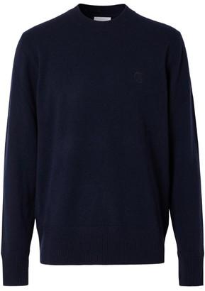 Burberry Cashmere Tb Monogram Sweater
