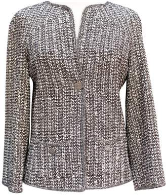 Chanel Grey Wool Jackets