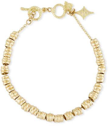 Armenta Sueno Electroform Nugget Bracelet with Diamond Crivelli Charm