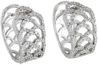 Damiani Certified 18K 0.95 Ct. Tw. Diamond Earrings