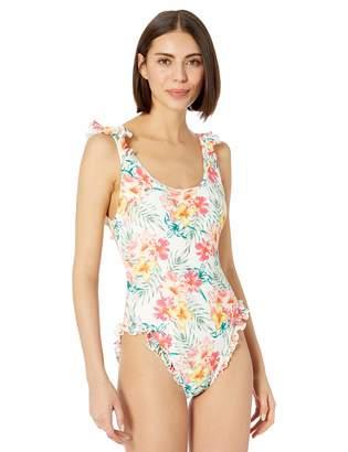 Coco Rave Women's Ruffle Scoop One Piece Swimsuit