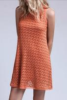 Blu Pepper Rust Shift Dress