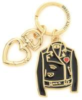 Juicy Couture Leather Jacket Enamel Key Fob