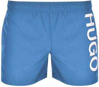 HUGO BOSS ABAS Swim Shorts Blue