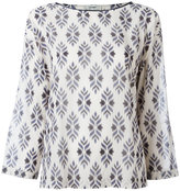 Forte Forte printed longsleeve top - women - Cotton - I