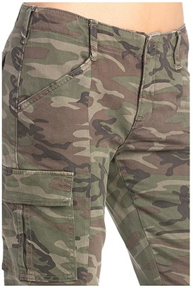 Miss Me Mid-Rise Cargo Skinny in Camo Green (Camo Green) Women's Jeans