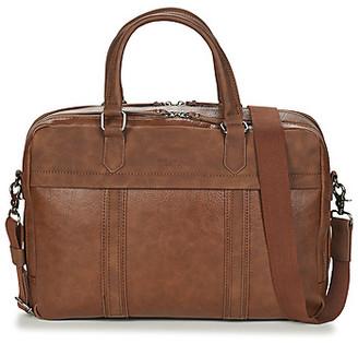 Wylson ALBURY men's Briefcase in Brown