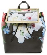 Ted Baker 'Forget Me Not' Leather Backpack - Black
