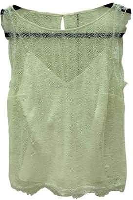 Tamara Mellon Ecru Silk Top for Women