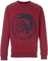 Diesel 'S-Orestes-Patch' sweatshirt