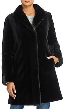 Maximilian Furs Reversible Mink Fur Coat