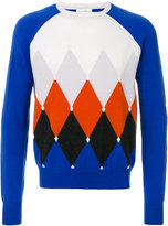Ballantyne diamond patterned sweater - men - Cashmere - 48