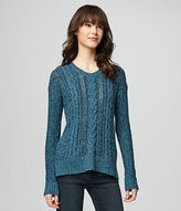 Aeropostale Womens Prince & Fox Cable Sweater
