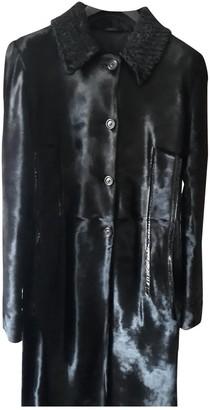 Fratelli Rossetti Black Fur Leather jackets